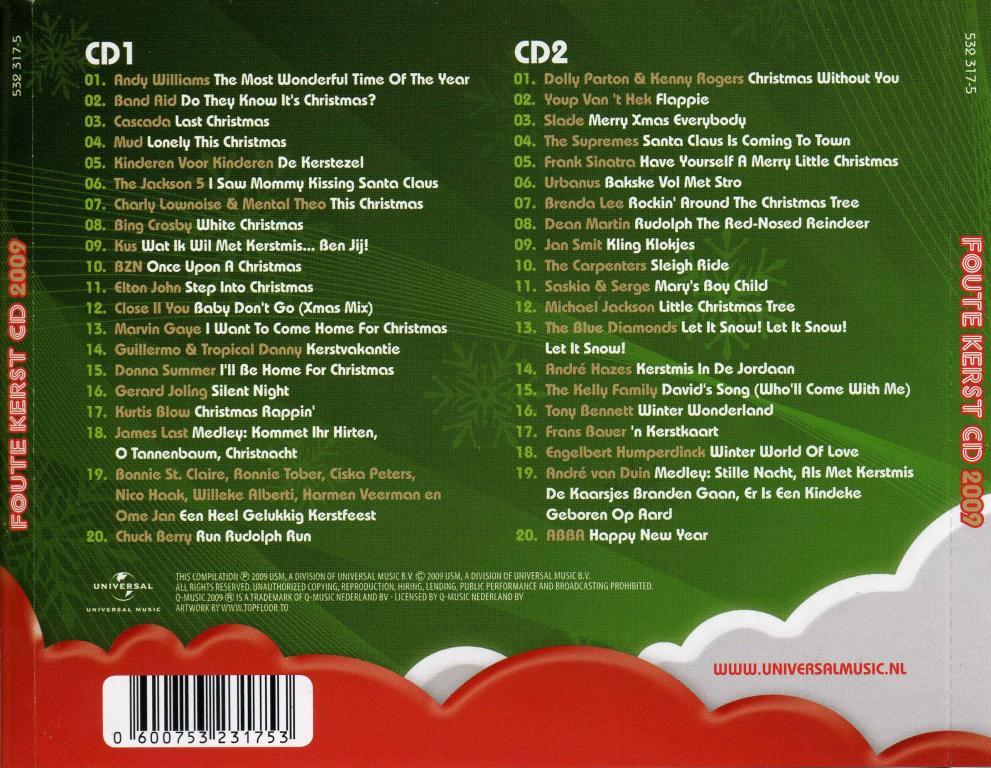 Foute Kerst Cd 2009 Downloaden Download
